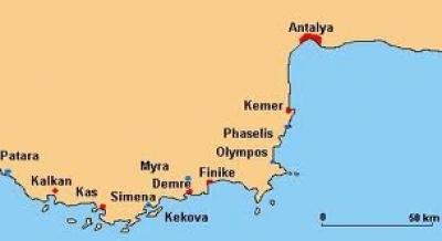 Antalya Kekova Antalya